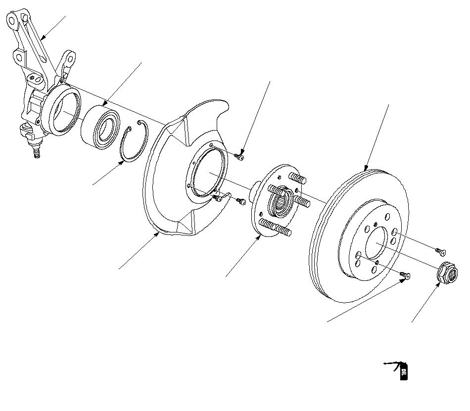 Front Knuckle Hub Wheel Bearing Replacement Honda Cr V 2002 2005 Diy Repair Guide