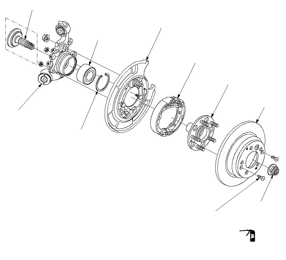 Rear Knuckle Hub Wheel Bearing Replacement Honda Cr V 2g 2002 2005 Diy Repair Guide