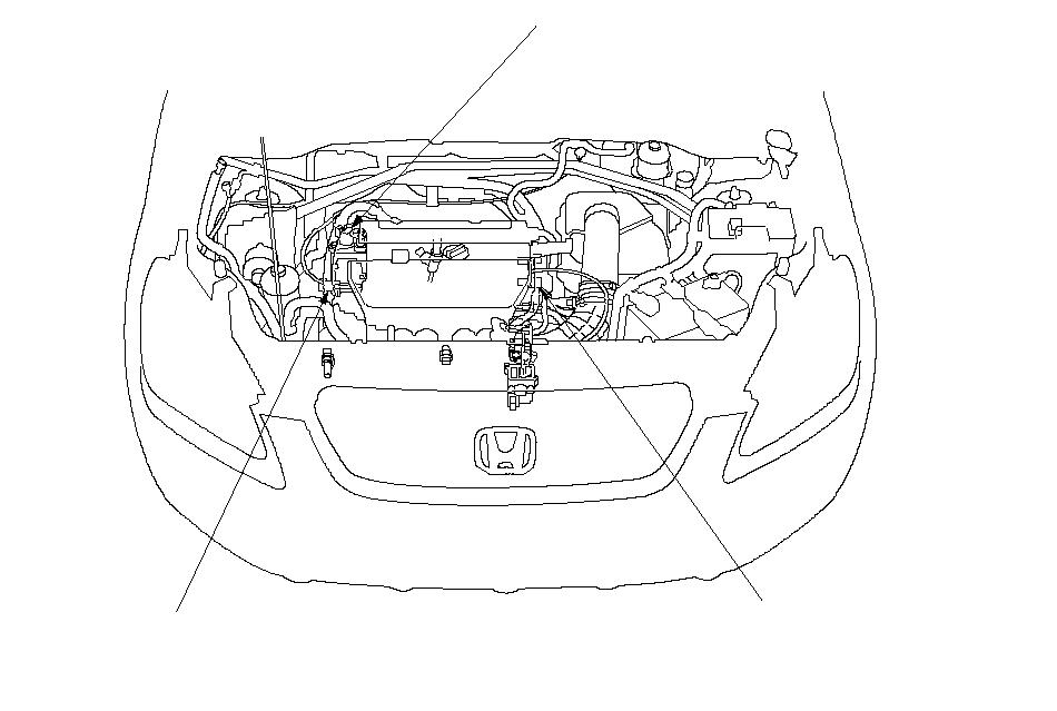 VTEC/VTC System Component Location Index - Honda CR-V 2002