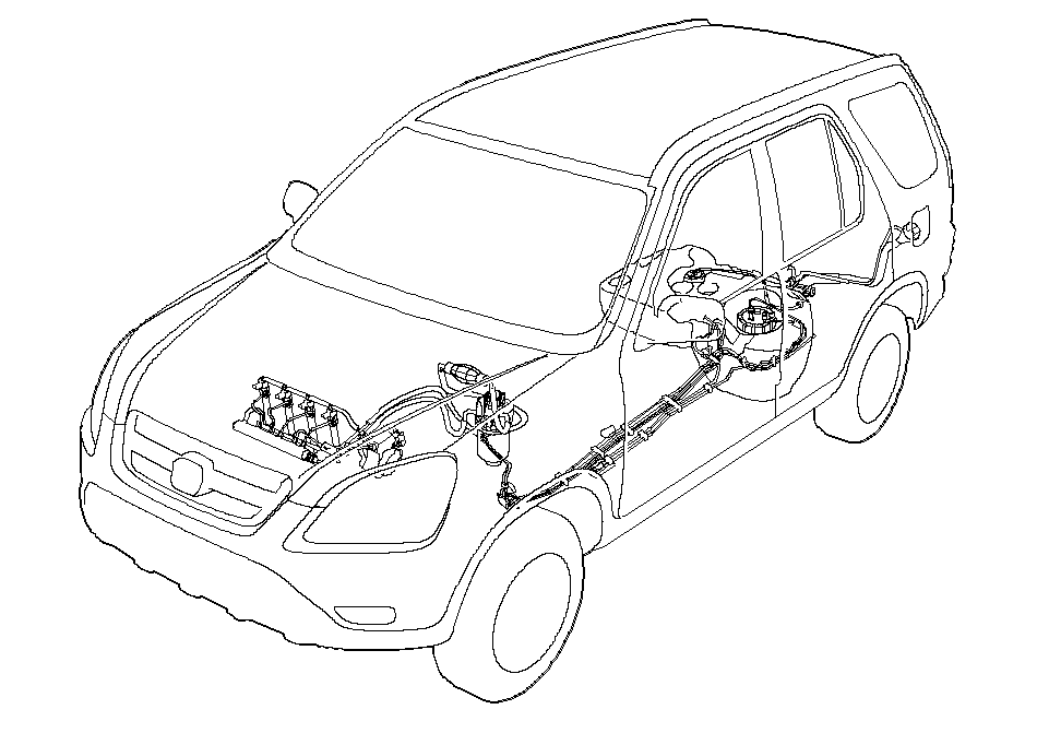2012 Honda Crv Windshield Washer Pump